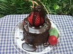Chocolate Strawberry Short Cake