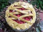 Raspberry Pie Candle