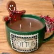 Gingerbread Man Cocoa Mug